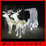 Waterproof Outdoor LED 3D Deer Motif Animal Christmas Light (OB-CL-0420326)