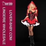 Red Sexy Ladies Riding Hood Lingerie Costumes Underwear (L1490)