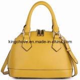 Soft Yellow Cowhide Fashion Tote Hanbag (KCL05-2)