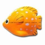 PU Foam Toy Tropical Fish Orange Color Promotional Stress Balls