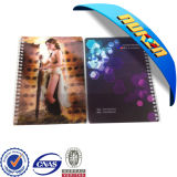 3D Lenticular Customized Notebooks/Personalised Notebooks