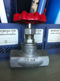 Stainless Steel Threaded Globe Valve (304, 316)