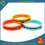 Colorful Fashion Screen Printed Silicone Wristband & Bracelet