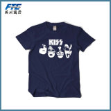 100% Cotton T Shirt or Polyester T-Shirt for Promoation