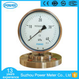 "6"" 160mm Mechanical Diaphragm Pressure Gauge 40 Kpa"
