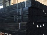 80*120mm Full Black Rectangular Tube