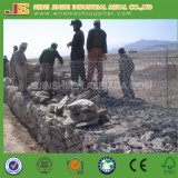 Hot Dipped Galvanized Hexagonal Wire Gabion for Riverbank