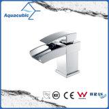 Waterfall Chromed Single Handle Bathroom Basin Tap (AF6004-6A)