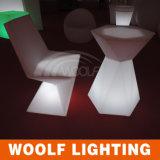 More 300 Designs LED Lighting Furniture New Design LED Dinner Chair