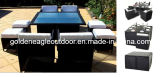 Outdoor Table and Chairs PE Rattan Patio Furniture (FP0051)