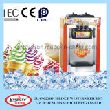 three flavor painting tabletop soft ice cream maker for sale