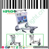 Hand Push Trolley for Airport Using
