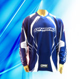 100% Polyester Man′s Sulimation Print Motorcycle Wear