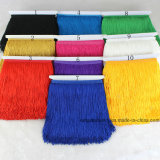 20cm Wholesale Colorful Fringe for Stage Latin Dancing Dress