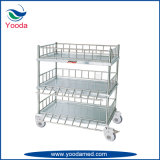 Stainless Steel Treatment Trolley for Infusion Bottle