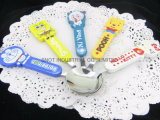 Colorful Plastic Handle Kid Spoon/Tableware/Dinnerware