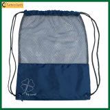 Wholesale Drawstring Backpack Mesh Sports Bag (TP-dB215)