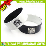 Hot Sell Spray Painting Qr Code Silicone Wristband (TH-band074)