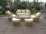 Mtc-280 PE Rattan & Aluminum Furniture, Outdoor Rattan Sofa