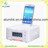 Hotel Docking Station with Snooze & Sleep Functions Alarm Clock