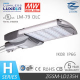 UL Dlc Listed 135W Timer Control Class 2 LED Street Light with 1-10V Dimming
