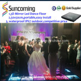 Patent Design Newest Arrival 3D Mirror Time Tunnel Disco Dance Floor