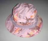Cotton Floral Bucket Hat/Fish Hat/Sun Hat (DH-BF343)