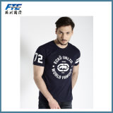 Good Quality Cotton T-Shirt with Custom Logo Printed
