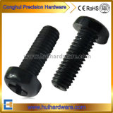 Black/White Nylon Cross Recessed Phillip Pan Head Screws M2-M8