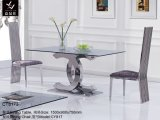 Stainless Steel Dining Table (CT8173)