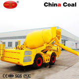 China Coal 1cbm Self Propelled Concrete Mixing Truck