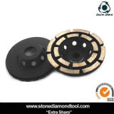 Diamond Concrete Cup Grinding Wheel with Double Segments