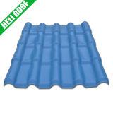 Anti-UV Color Lasting Plastic Spanish Roof Tile