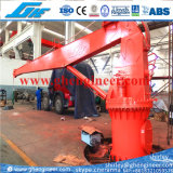 telescopic boom ship crane