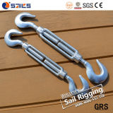 Us Type Hot Galvanized Turnbuckle with Hook and Hook