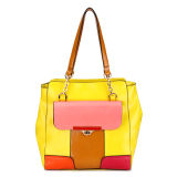 Unique Designer Colorful Handbag for Young Girl (MBLX033142)