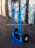 Cheap Metal Tube Hand Trolley (HT2023)