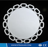 Franeless Decorative Double Coated Silver Mirror/Spell Mirror/Safety Vinyl Mirror