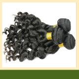 Curly Virgin Remy Brazilian Human Hair Weave Remy Hair