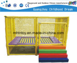 High Quality Square Trampoline for Children in Park (HD-15104)