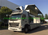 HOWO A7 6X4 Aluminium Alloy Van Truck for Sale