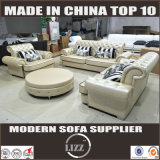 Classic Chesterfield Leather Sofa (Lz069b)