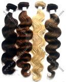 Human Hair Weft Remy Human Hair Extension (AV-HE005A)