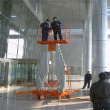 Dual Mast Aluminum Alloy Lift Platform for Repair