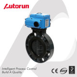 Electric Plastic PVC Butterfly Valve