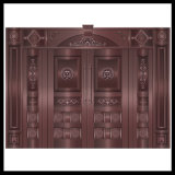 High Quality Art Bronze Brass Copper Exterior Doors