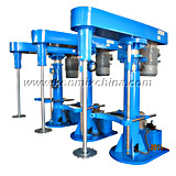 High Speed Disperser Dissolver Mixer Machine for Paint, Inks