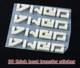 3D Thick Heat Transfer Sticker High Quality