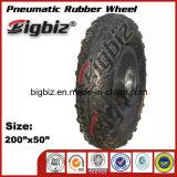 for South America Market Small Pneumatic (200 50 100) Rubber Roller Skate Wheel.