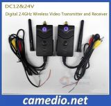 DC12&24V Digital 2.4GHz Wireless Video Transmitter and Receiver for Car CCTV Security System Kits